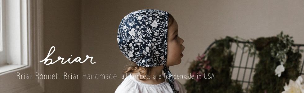 briar handmade, briar bonnets