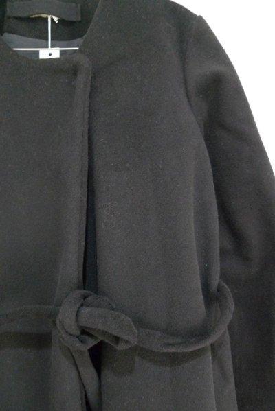 画像2: ウール/カシミア・コート/TIE COAT BLACK