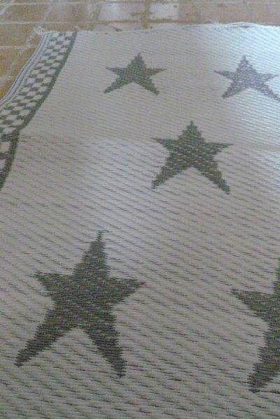 画像2: STAR ビニール・ラグ SMALL/SILVER/WHITE