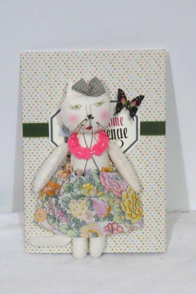 画像1: APOLLINE MISS KITTY/WITH CARD