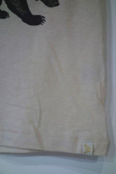 画像2: ATSUYO ET AKIKO オーガニックTシャツ クマ/NATURAL