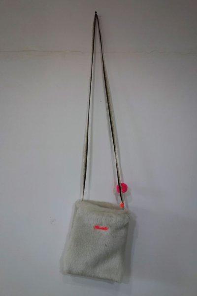 画像1: ATSUYO ET AKIKO フェイクファー ポシェット&ポンポン バッグ
