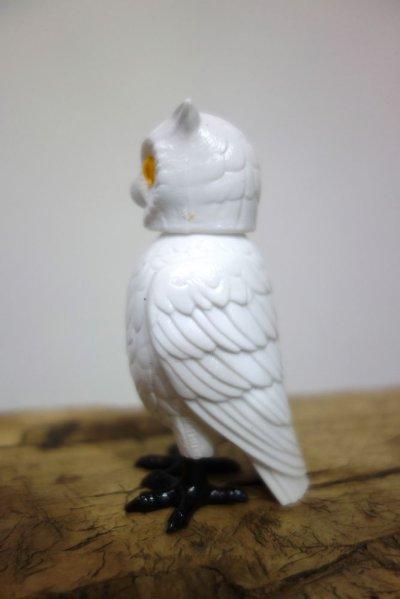 画像2: 白フクロウ/首振りドール