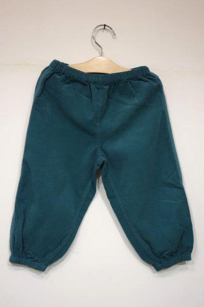 画像1: BONTON BEBE  裾絞りパンツ ENCORE/374 BLEU SATURNE (1)