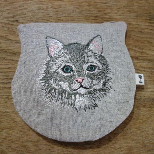 画像1: CORAL & TUSK ネコのポーチ (1)