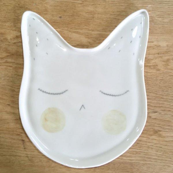 画像1: Kat's Création ネコのプレート/ANDIE (1)