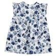 画像3: MINI BASIC - ボタニカルプリント・ワンピース Inky Blue Botanical Dress RRP (2/3才のみ) (3)