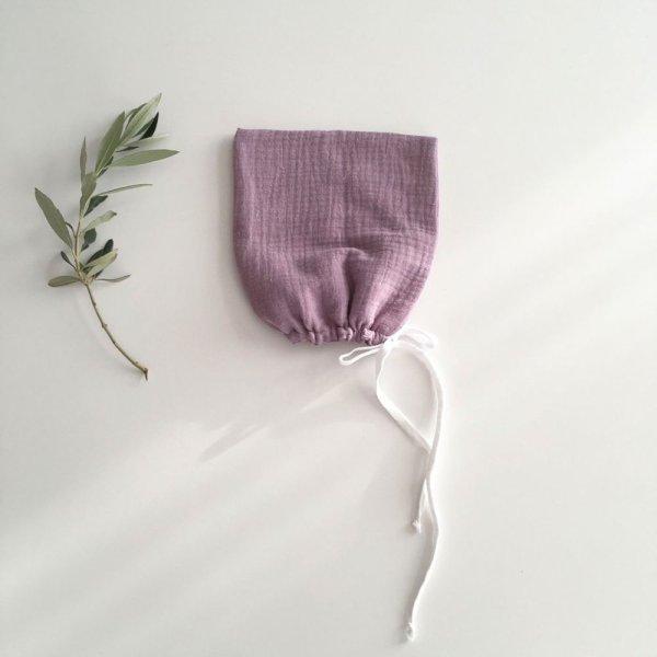 画像1: liili pixie bonnet ボンネット/lilac:ライラック (1)