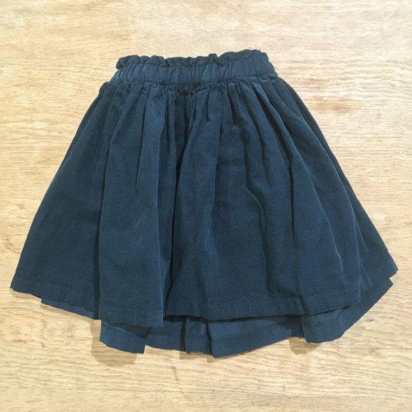 画像1: BONTON 細畝コーデュロイスカート MAGENTA/292 VERT JONAS(4歳のみ) (1)