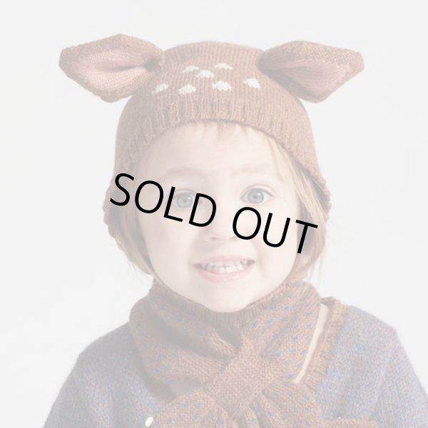 画像1: OEUF BABY-KIDS ニット・アニマル帽・バンビ/BAMBI(18Mのみ) (1)