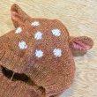 画像3: OEUF BABY-KIDS ニット・アニマル帽・バンビ/BAMBI(18Mのみ) (3)