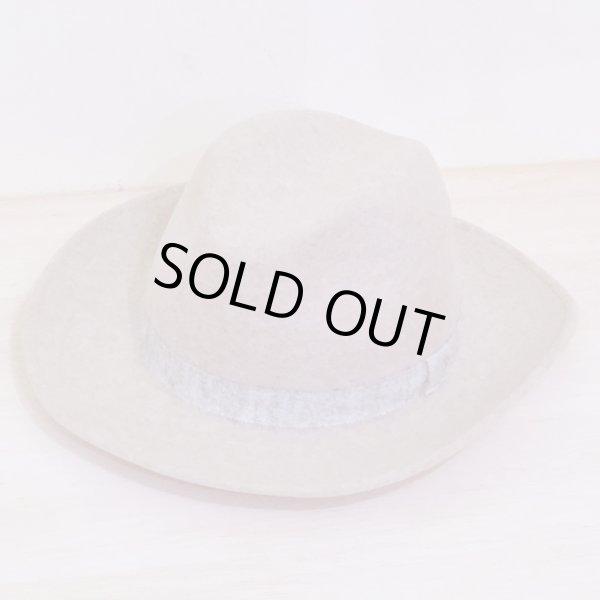 画像1: BONPOINT YAM レディース ウールフェルト中折れ帽(T5サイズ)/003 (1)