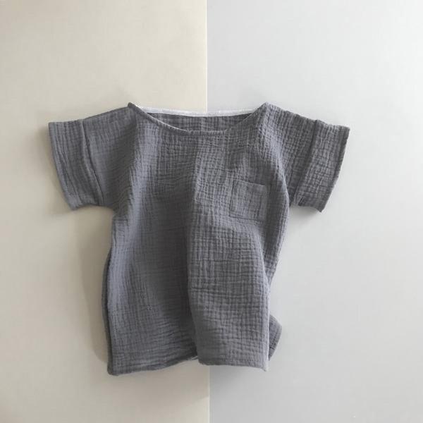 画像1: liili ポケットシャツ-18SS/MOUSE (1)