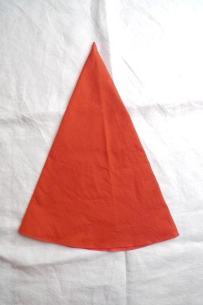 画像2: 三角帽子/オレンジ