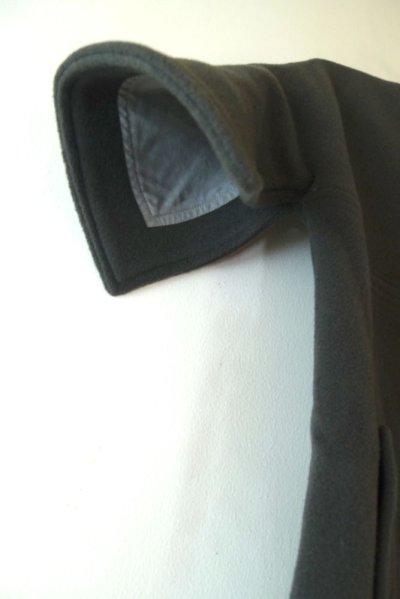 画像2: スタンドカラー・コート/GRAY(6,8A)